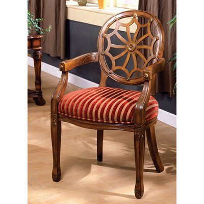Furniture Of America Cm Ac6118 Edinburgh Accent Chair Home Showroom