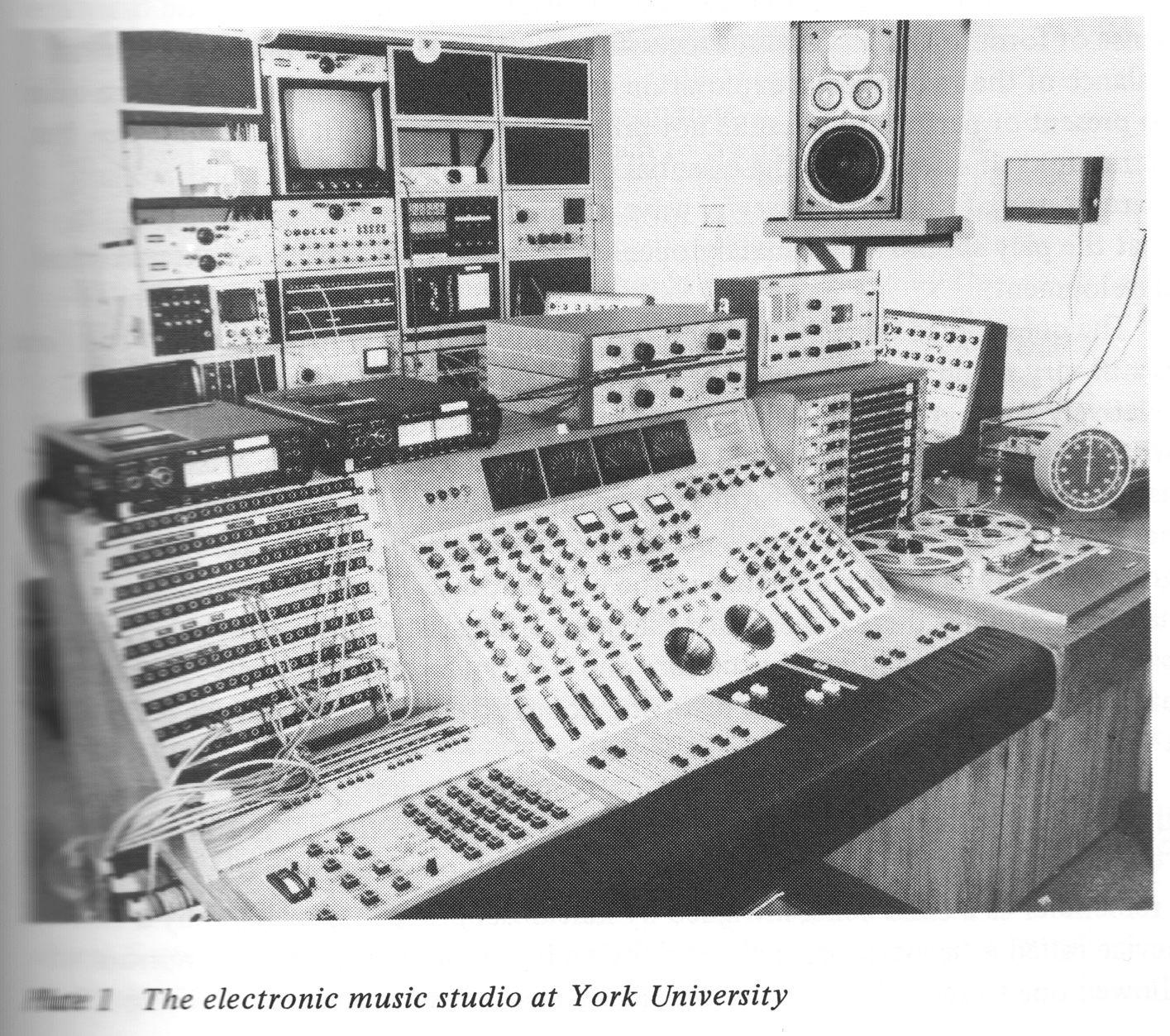York University electronicmusic synthesizer instruments