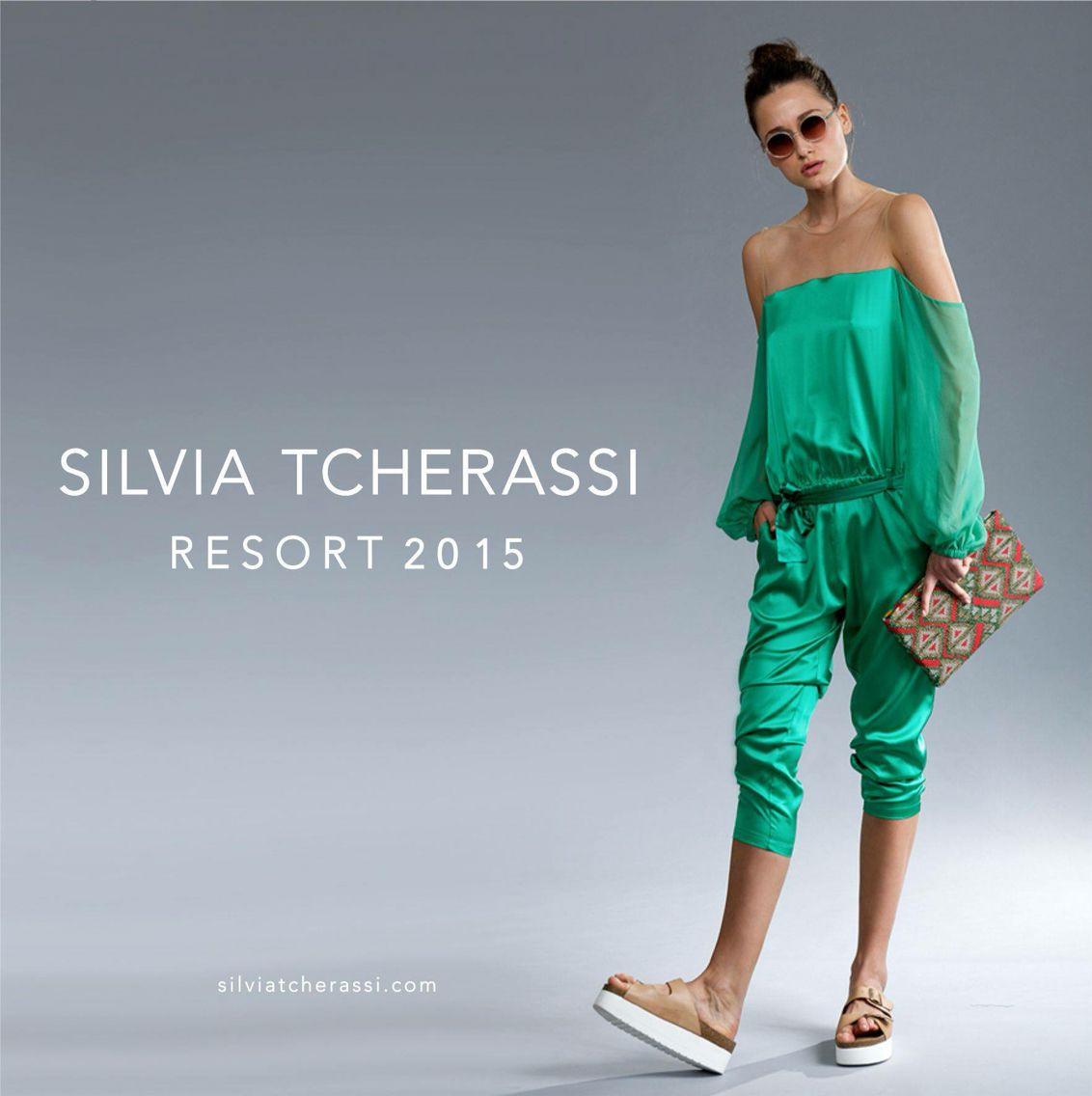 Silvia Tcherassi. Resort 2015   Fashion   Pinterest   Harems ...