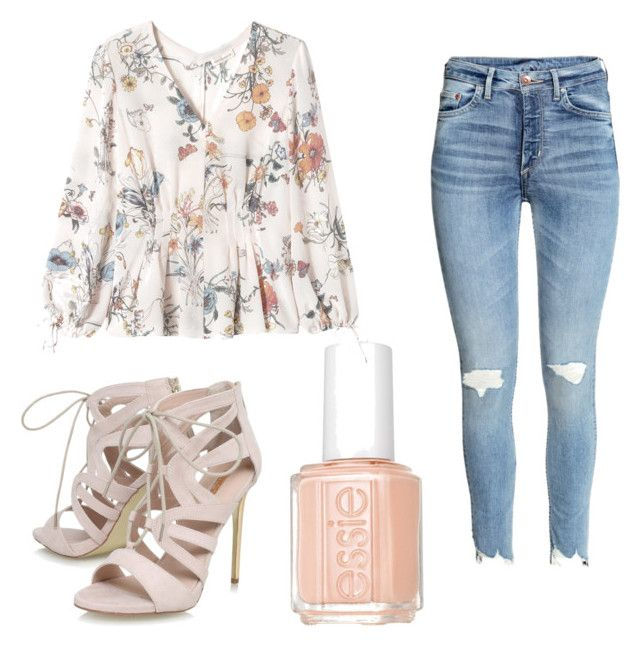 """""""Spring outfits"""" by abbeyhopp on Polyvore featuring Rebecca Taylor, Carvela and Essie"""