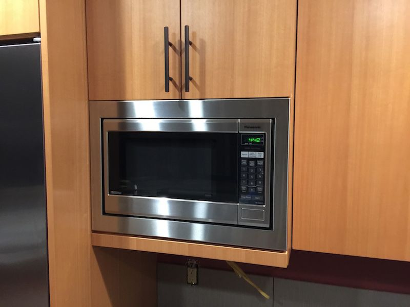 panasonic 24 microwave trim kit wall