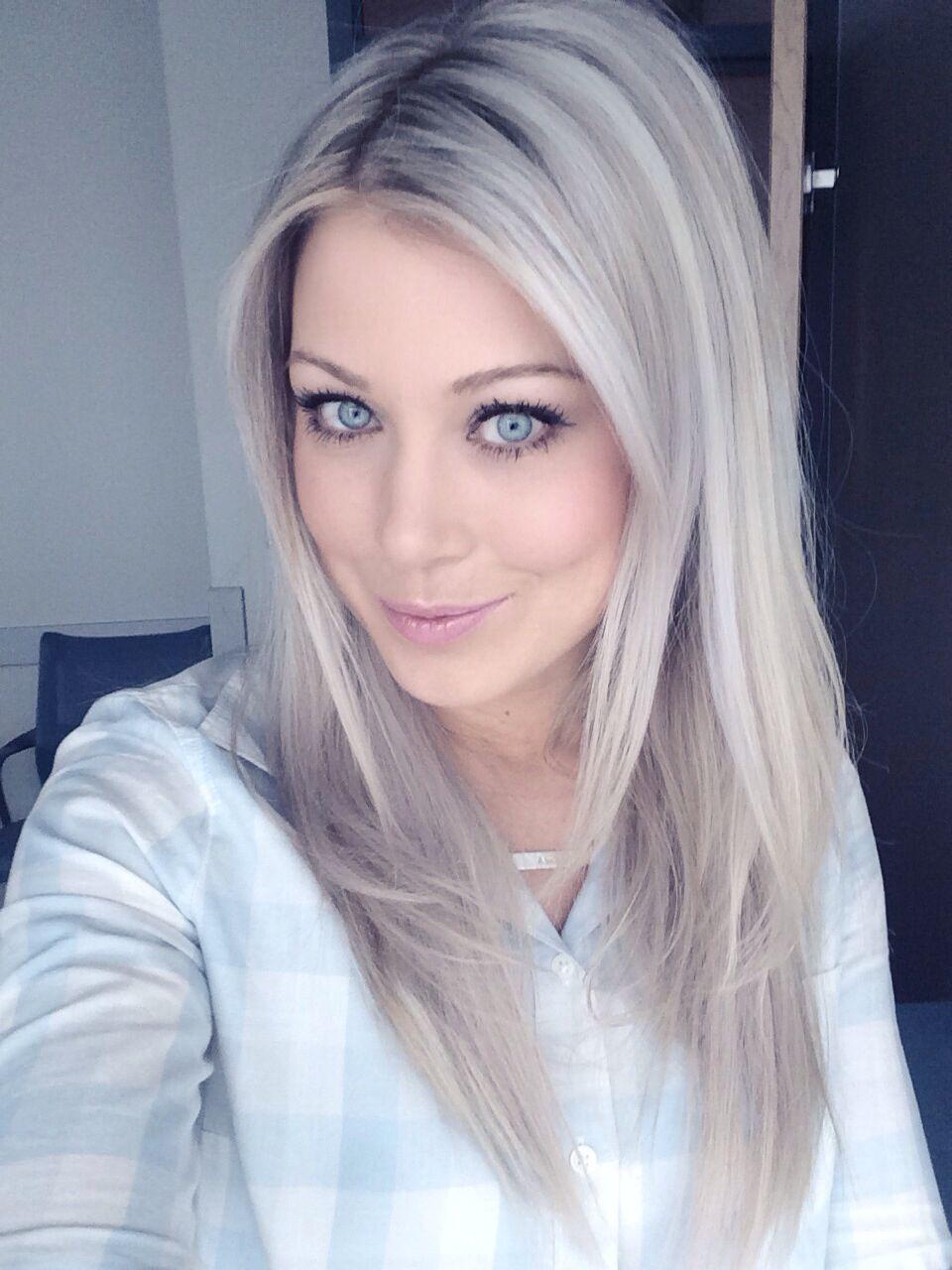 Frisuren blond gefarbt