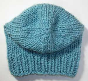 New Handmade Stockinette Beanie – Wear as a ski hat or slouchy. Double  ribbed brim keeps shape without stiffness. Knit in the round with double  strands 6470426dadf