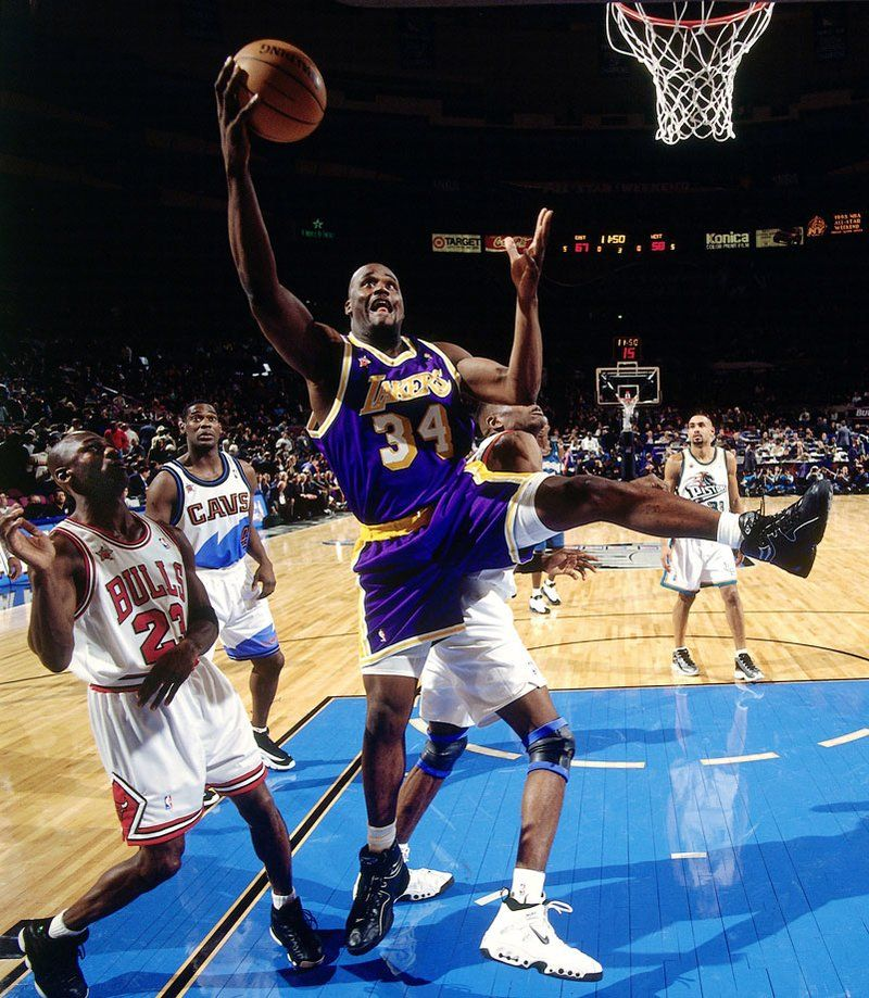 1998 Nba All Star Game Revisited Shaquille O Neal Rose Nba Nba Stars