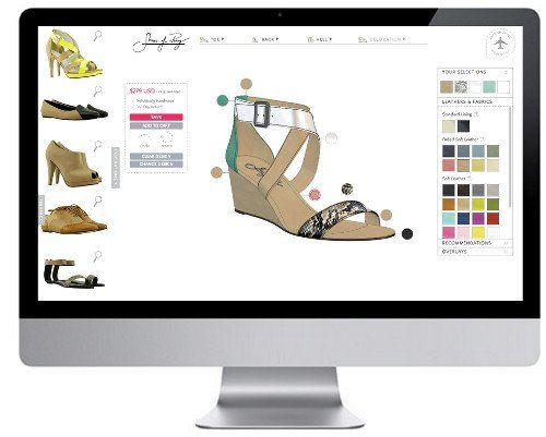 Discover your perfect shoe with our 3D designer.