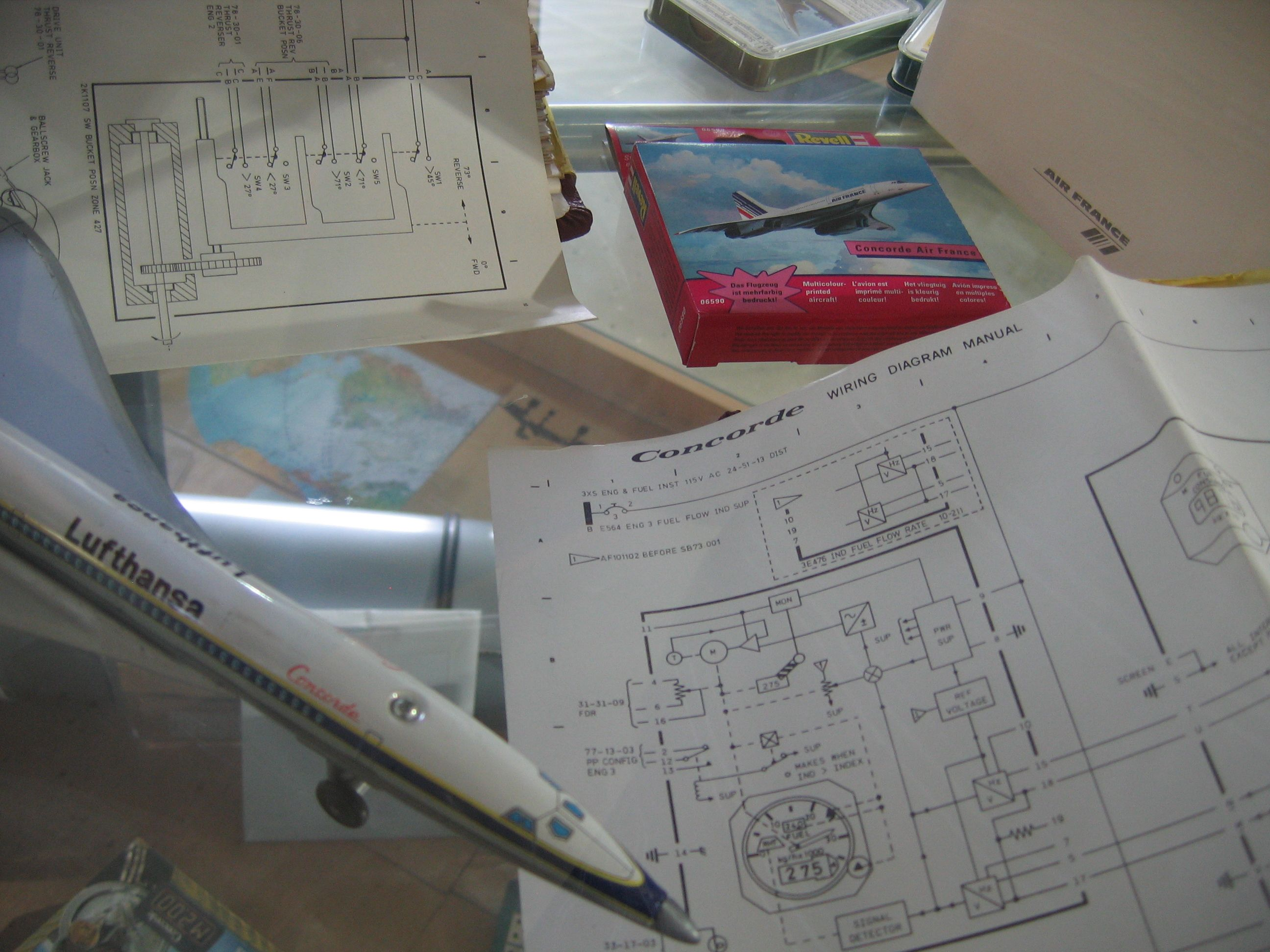 Concorde Stuff Wiring Diagram Jets Rockets Flying 2002