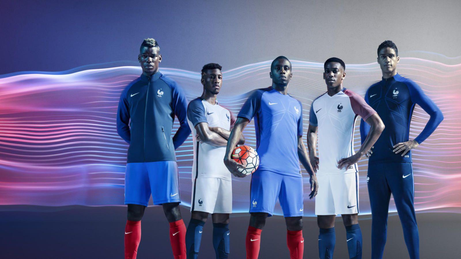 France 2016 National Football Kits France National Football Team National Football Football Kits
