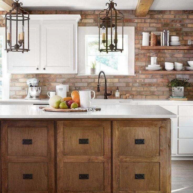 36 the ultimate modern farmhouse kitchen joanna gaines cabinets trick homeknickna joanna on farmhouse kitchen joanna gaines design id=42653