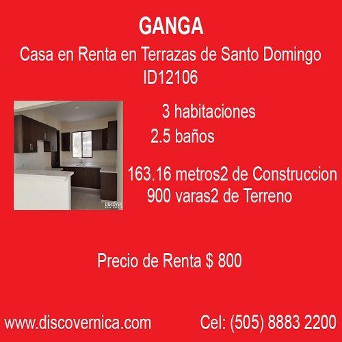 Casa En Renta En Terrazas De Santo Domingo Id12106 Casas