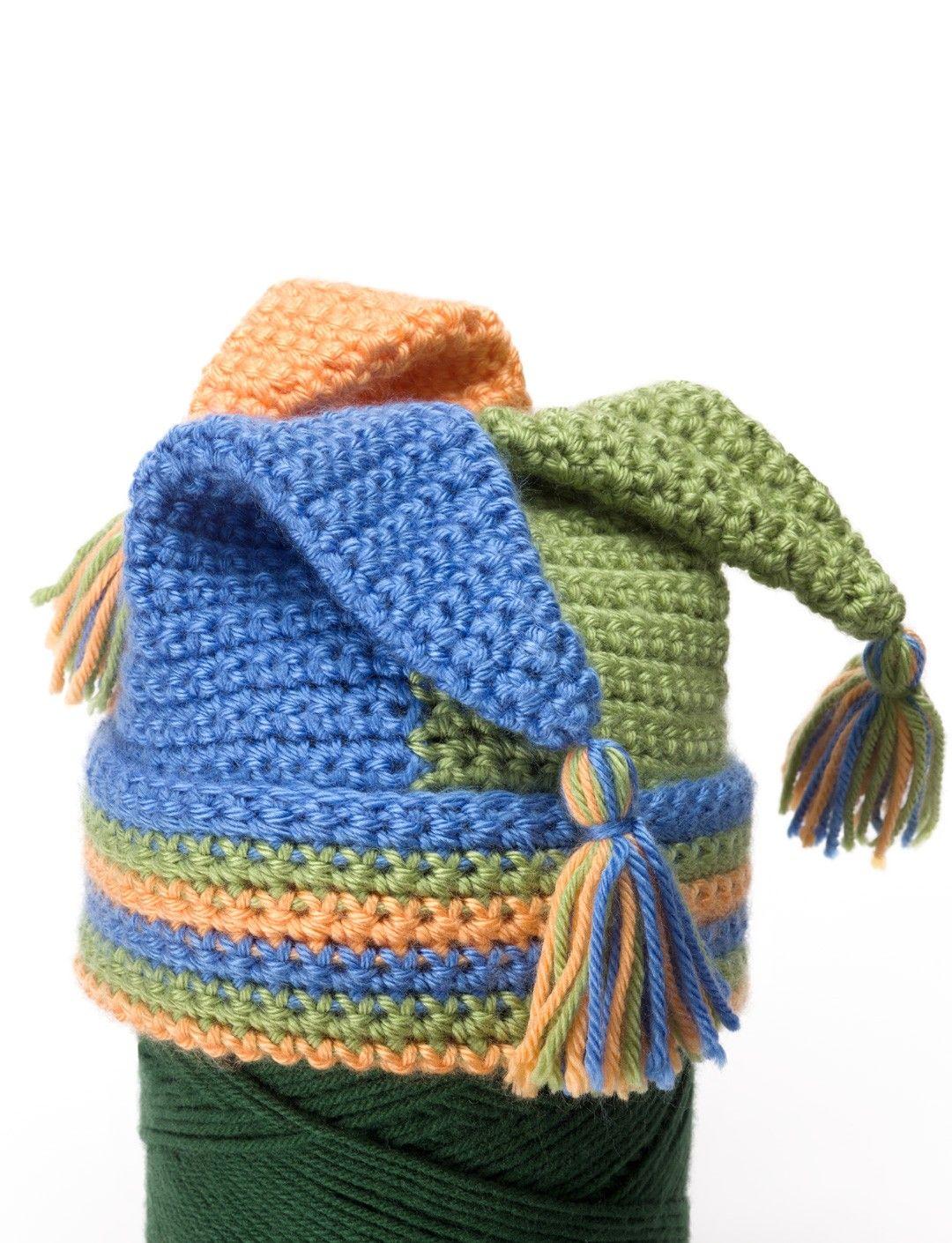 Crochet Tripod Hat