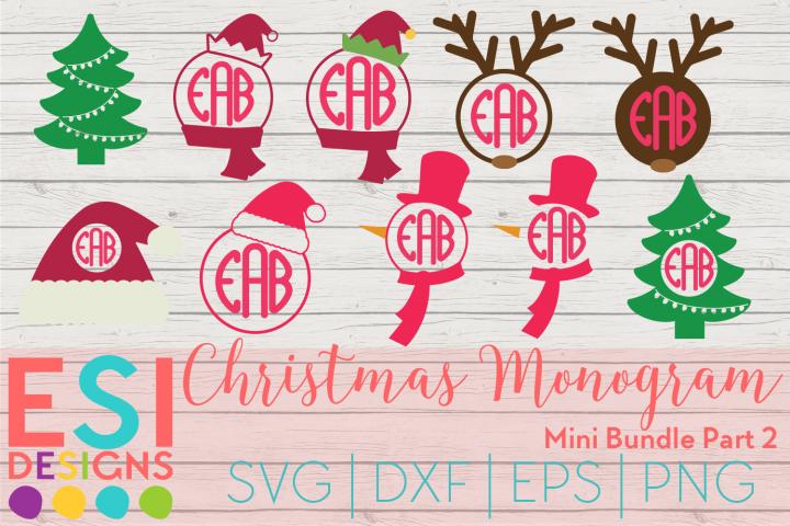 Christmas Monogram Design Mini Bundle Part 2 Svg Dxf Eps Png Svg Svgfiles Svgcuttingfiles Christma In 2020 Christmas Monogram Monogram Design Christmas Design Kids