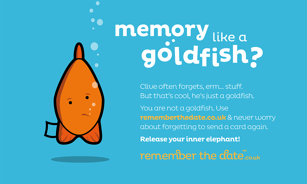Memory like a goldfish 91