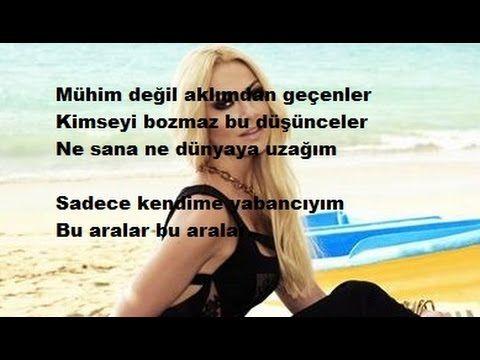 Hadise Bu Aralar Karaoke Lyrics Sarki Sozu 2016 Karaoke Sarkilar Muzik
