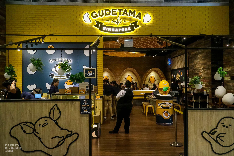 Gudetama Cafe Singapore 1 Gudetama Singapore Cafe