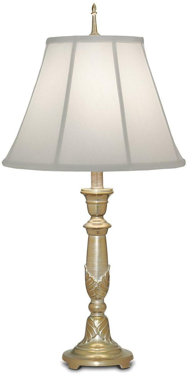 0 032893 29 H Genuine Stiffel 3 Way Table Lamp Milano Silver Table Lamp Silver Table Lamps Buffet Lamps
