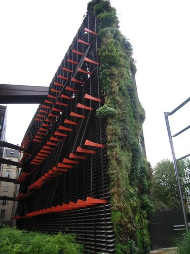Musée du quai Branly. | Living walls, Paris and Jean nouvel