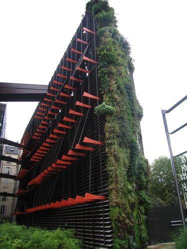 Musée du quai Branly. | Living walls and Architecture