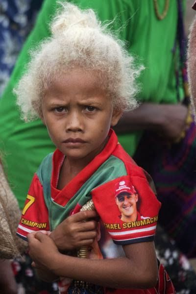 Pin By Peaches On Solomon Islands People Black And Blonde Melanesian People Solomon Islands People
