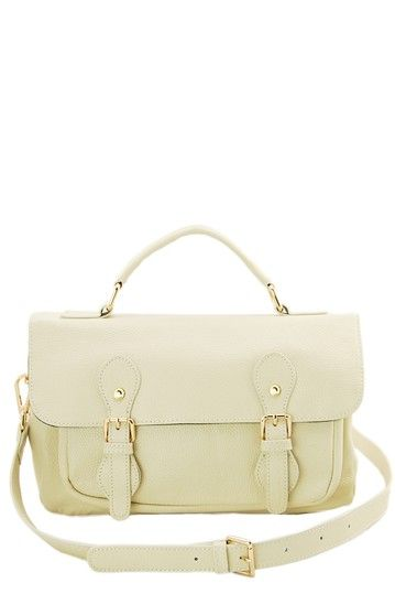 Jane Ellen Tristan Leather Messenger Bag by Erica Anenberg on @HauteLook
