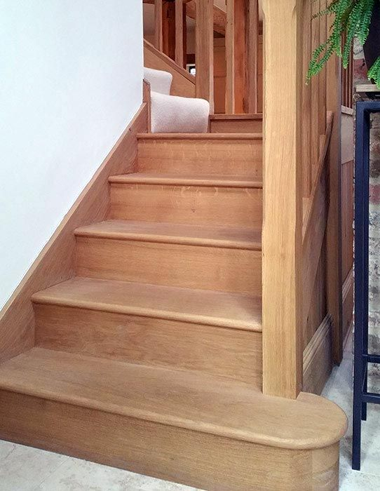 Best Solid Oak Staircase Staircase Oak Stairs Stairs 640 x 480