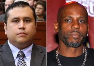 """George Zimmerman is not a celebrity.  But Trayvon Martin's killer has apparently signed on to fight rapper DMX in a """"celebrity boxing match,"""" according to TMZ."""