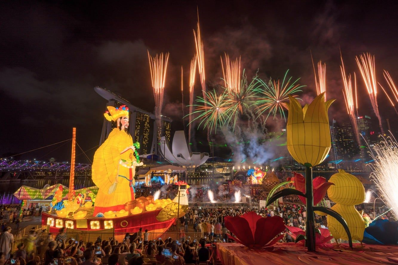 Chinese New Year 2021 Dates Celebrations Fireworks In Singapore Year Of The Monkey Year Of The Dragon Year Of The Rabbit