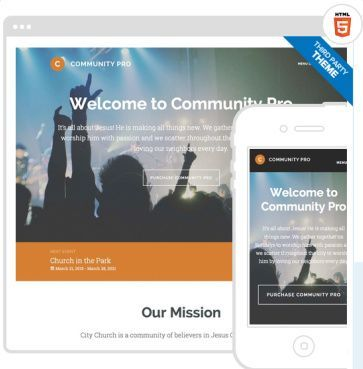 Community Pro Genesis Church Theme : StudioPress | WordPress Theme ...