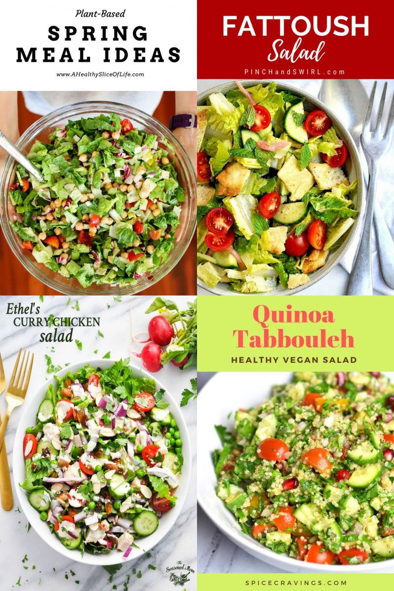 17 best recipes for salad, avocado salad, chickpea salad This vegan Quinoa Avocado Salad is made with simple ingredients and a tossed in a tangy dressing. It's a protein-packed salad that works for lunch or dinner | Vegan | Salad Ideas | Salads | Appetizers | Vegetarian | via @feelgoodfoodie1
