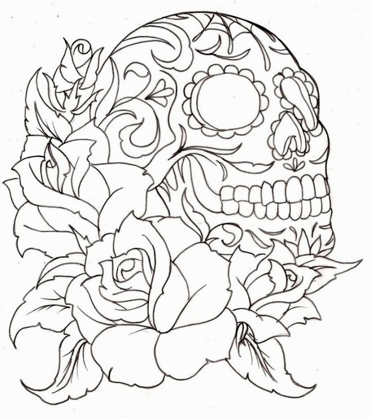 Image for Tattoo Coloring Pages Printable | aztlan | Pinterest | Tattoo