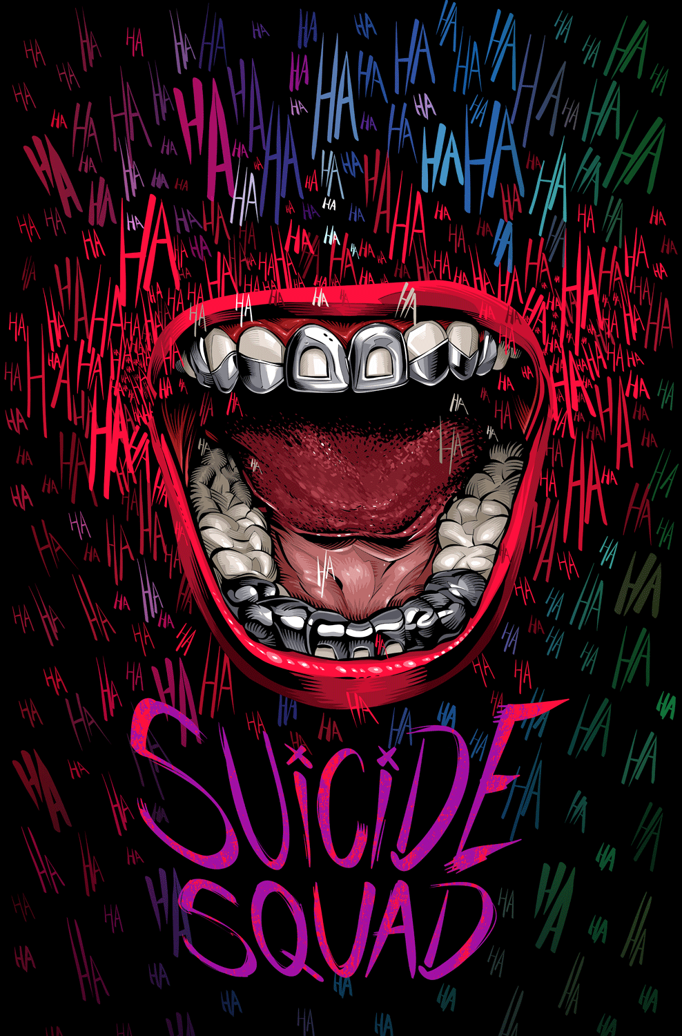 """pixalry: """"Suicide Squad Alternative Poster - Created by ..."""