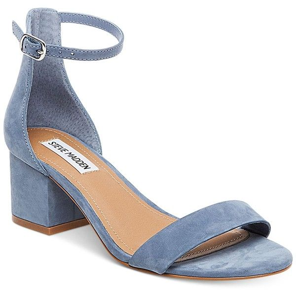 Steve Madden Women s Irenee Two-Piece Block-Heel Sandals ( 79) ❤ liked