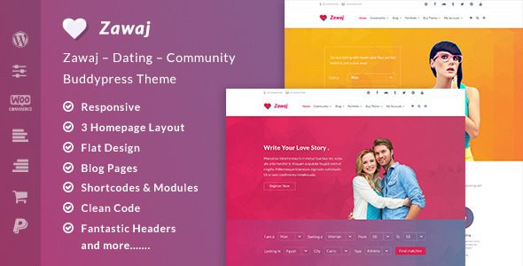 Love Story - Dating Wordpress Theme Nulled