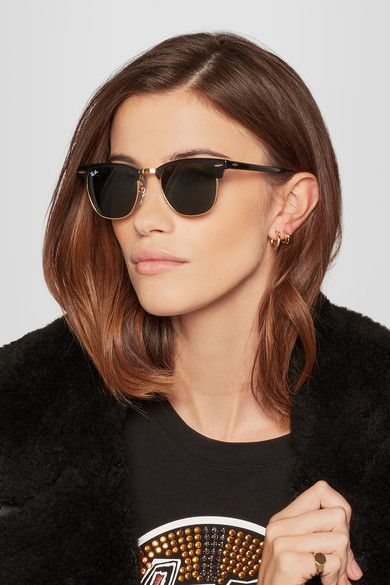 ray ban clubmaster round sunglasses