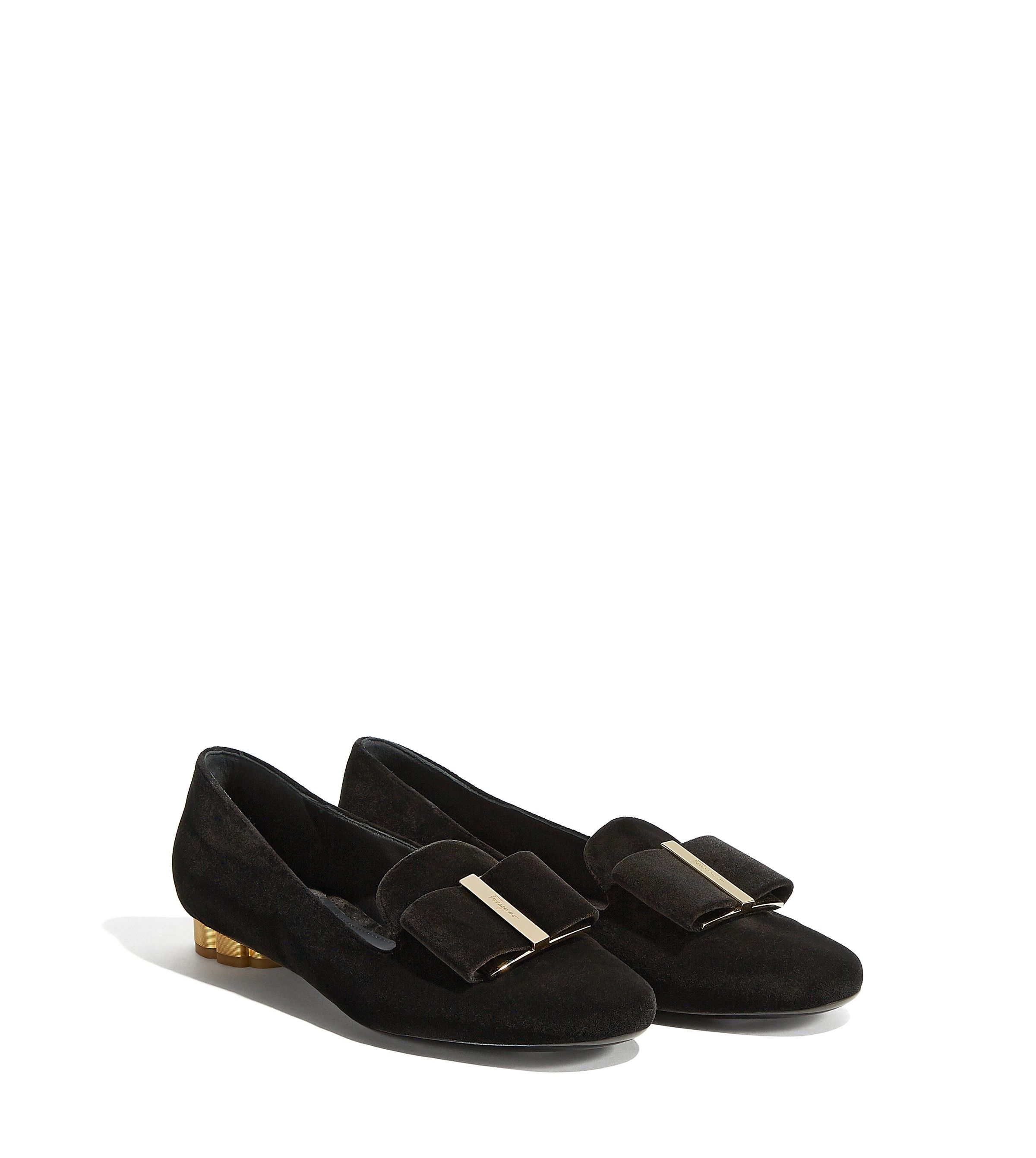 Salvatore Ferragamo Women's Sarno Flower Heel Smoking Loafer 4xQJjS