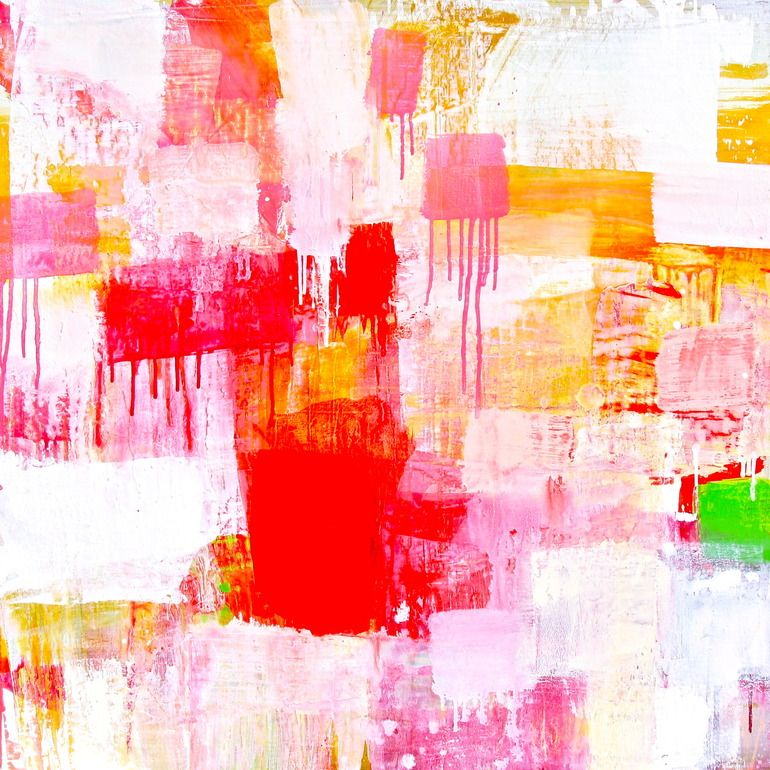 "Saatchi Online Artist: Lisa Marie Yvonne Duval; Oil, 2012, Painting ""Sonic Daydream"""