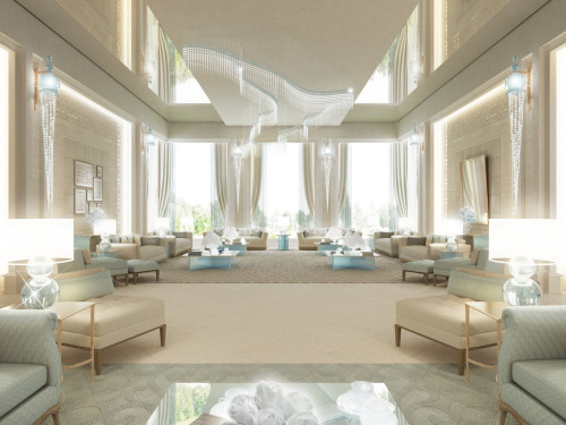 Luxury Living Room Design in Unspeakable Charm | IONS DESIGN ...