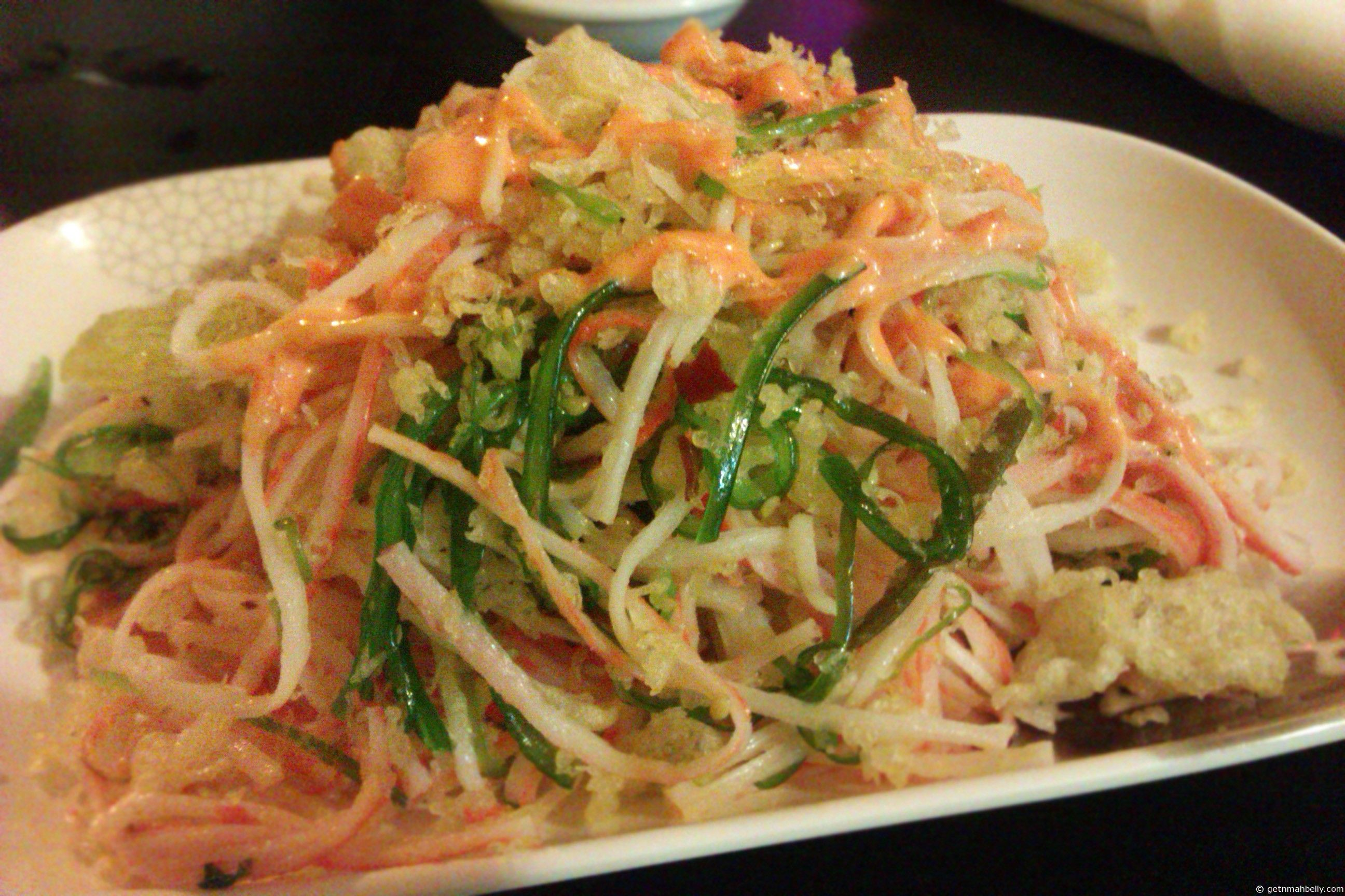 how to make spicy mayo for kani salad