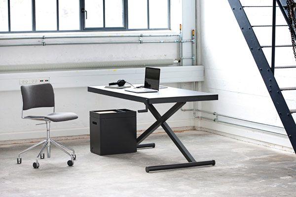 Xtable05 stuff pinterest bureau minimaliste hauteur et bureau