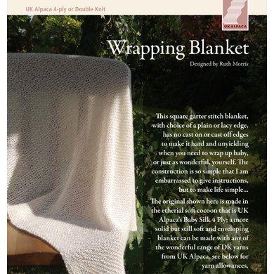 Wrapping Blanket In Uk Alpaca Baby Alpaca Silk 4 Ply Knitting