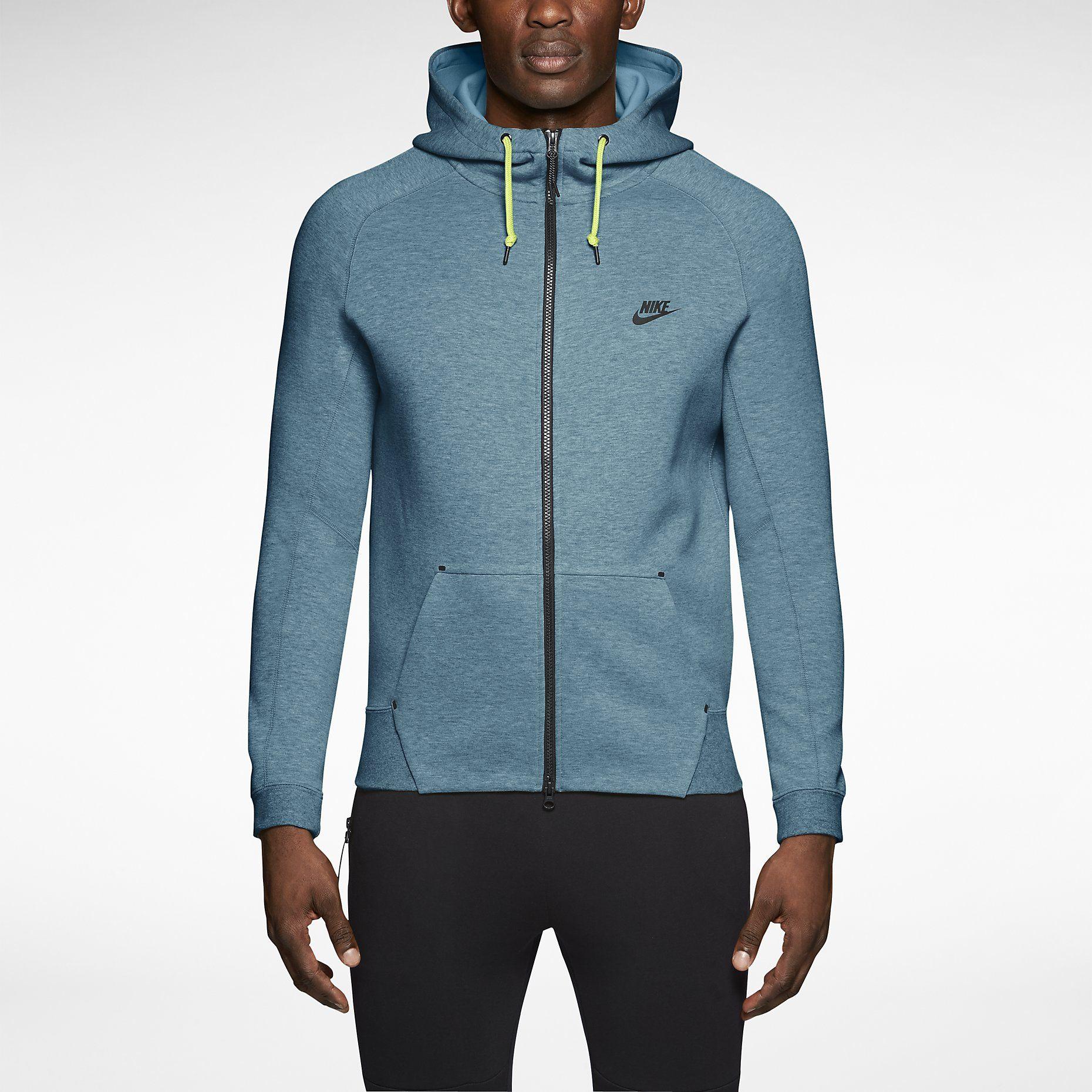 Nike Tech Fleece AW77 Men's Hoodie. Nike Store Nike tech
