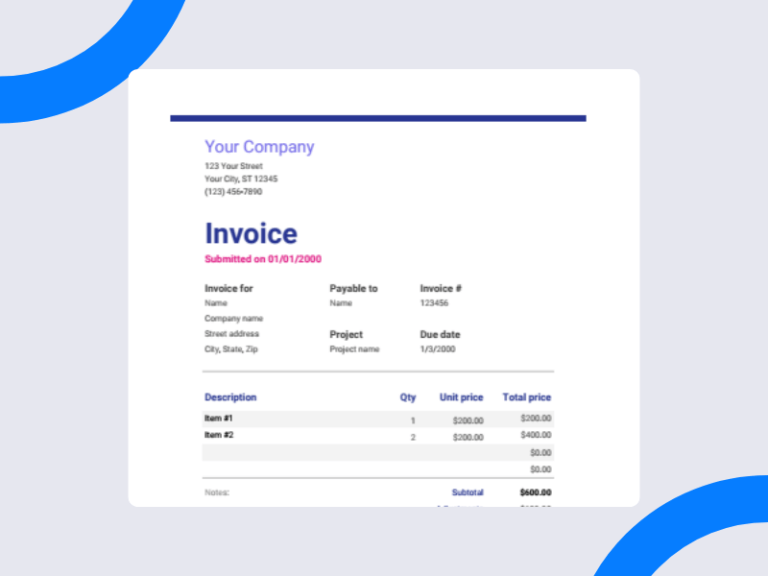 50 Of The Best Free Google Sheet Templates For 2021 Invoice Template Templates Create Invoice