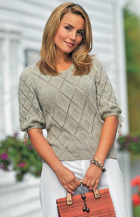 2e5c1f627de Strik med fine hulmønstre - Hjemmet DK | Machine knitting | Sweater ...