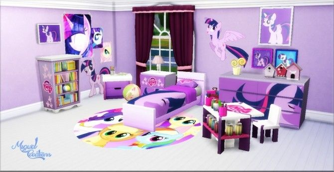 My Little Pony Bedroom At Victor Miguel