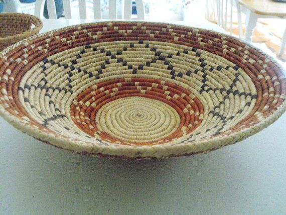 Coil basket by trey15 on Etsy, $50.00