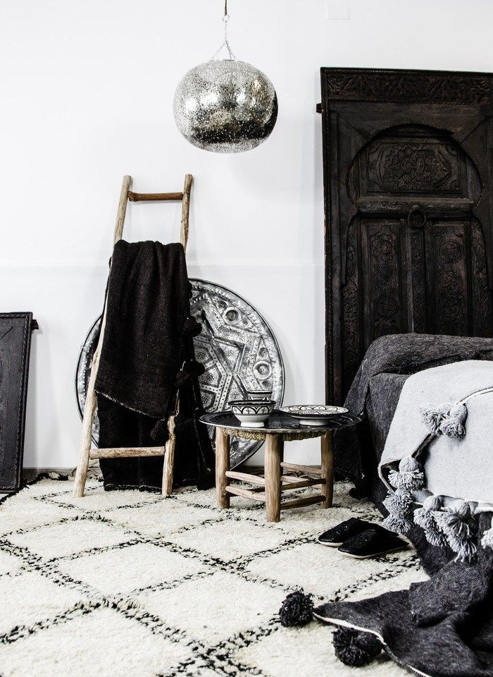 Zoco Home - Ethnic Scandinavian Decor - Morroccan Vintage Trays | designlibrary.com.au