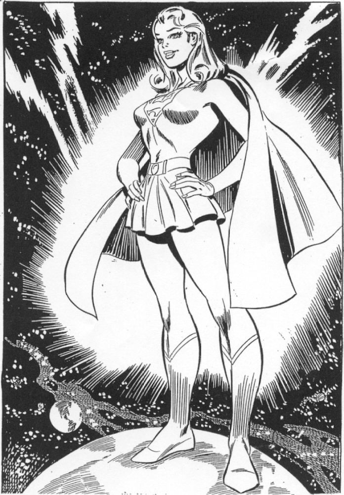 Supergirl by Jim Mooney Supergirl Classic Comic art