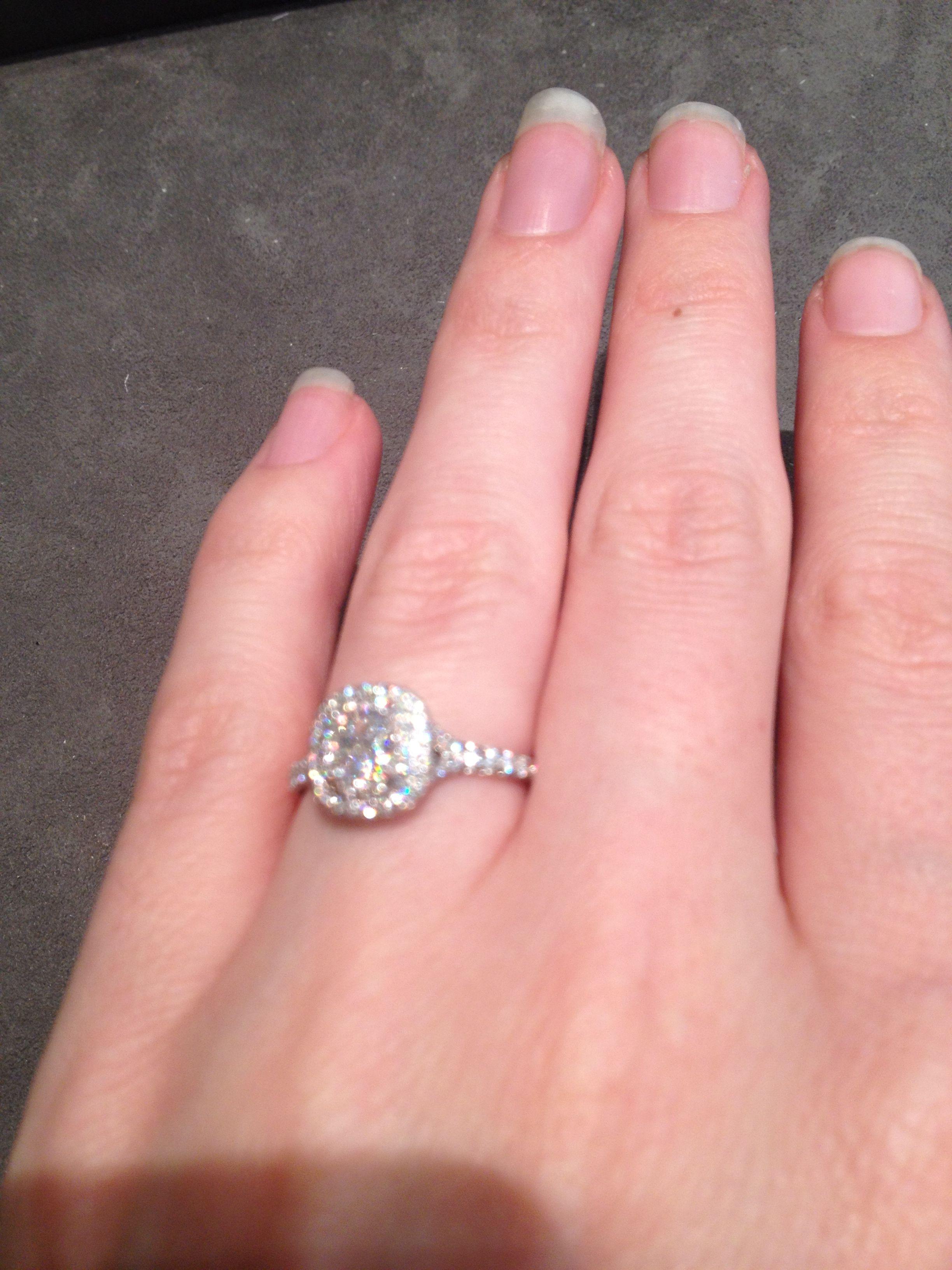 Tiffany Soleste. .53 carat E/VS1 Plantinum   WEDDING   Pinterest ...