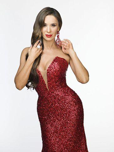 Catherine Siachoque interpreta a Estefanía Pérez, una mujer seductora y  adicta a los diamantes que