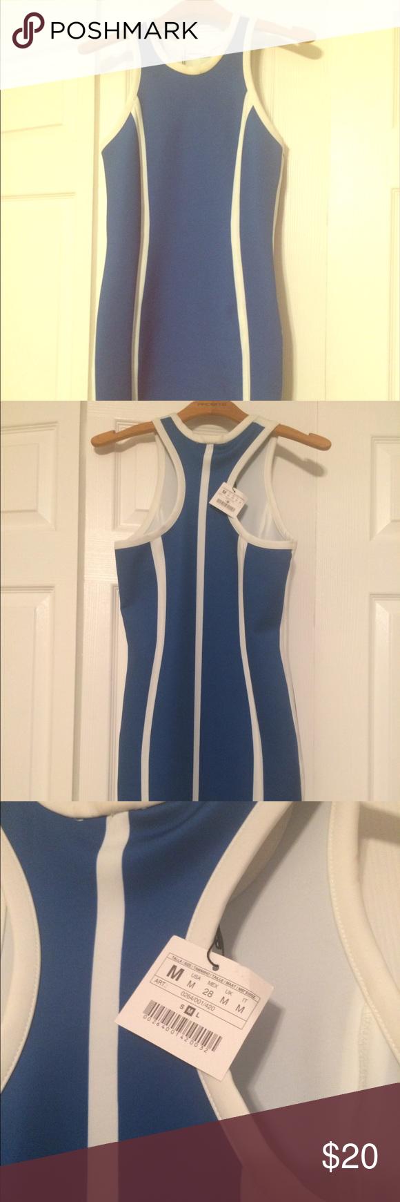 Zara Racerback Dress Zara Racerback Dress, Sporty Chic.  Bought from another Posher but it did not fit. Zara Dresses