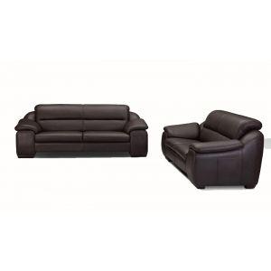 Ceallo Brown Sofa 3 2 1 Sofa Buy Sofa Leather Sofa Set